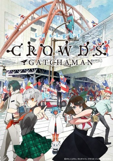 Gatchaman Crowds 2nd Season, Gatchaman Crowds Second Season, Gatchaman Crowds Second